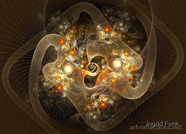 Light Strings by Ingrid Funk