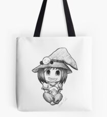 #Inktober2017 Deadly Little Witch Tote Bag