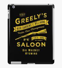 Greely's Saloon iPad Case/Skin