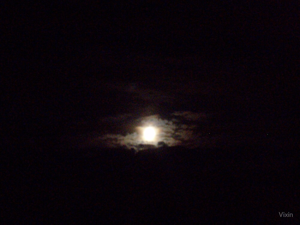 Moon cloud by Vixin
