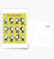 The Twelve Dogtors Postcards
