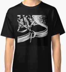 Scratchboard Hightop Shoes Classic T-Shirt