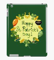 Happy St Patrick`s Day iPad Case/Skin