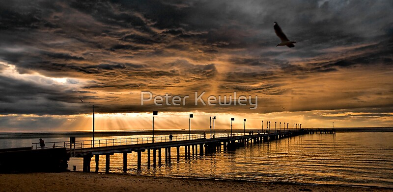 Sunset in HDR by Peter Kewley