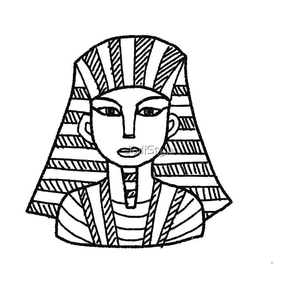 Pharoahs Of Ancient Egypt - Egyptian Gifts for Men and Women of Ancient Egypt - Pyramids of Egypt and Gods by JodiStyle