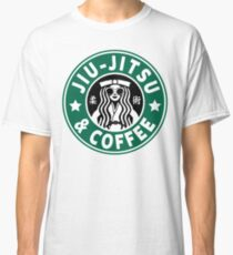 JIU JITSU AND COFFEE - FUNNY BRAZILIAN JIU JITSU Classic T-Shirt