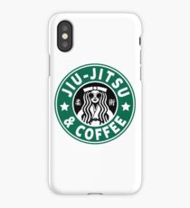 JIU JITSU AND COFFEE - FUNNY BRAZILIAN JIU JITSU iPhone Case/Skin