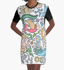 Many many monstrous things Graphic T-Shirt Dress