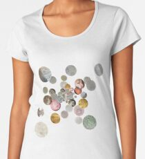Microscope Bubble Burst Women's Premium T-Shirt