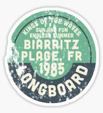 Biarritz Plage Sticker