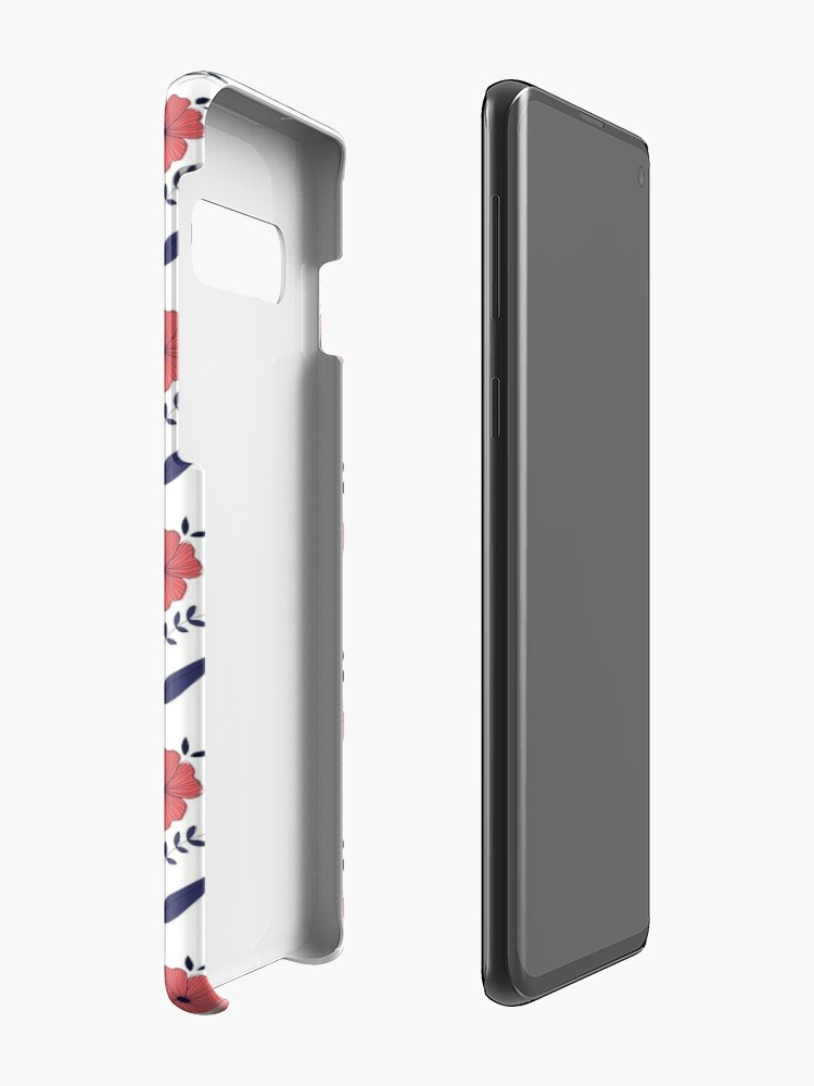 Alternate view of Flowers Case & Skin for Samsung Galaxy