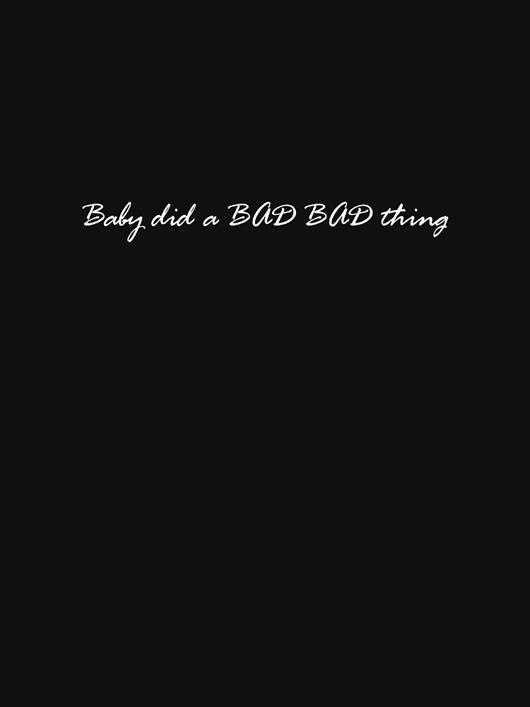 Baby did a BAD BAD thing by dmo31