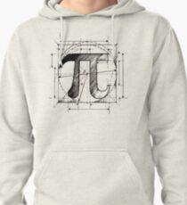 Pi Symbol Sketch Pullover Hoodie