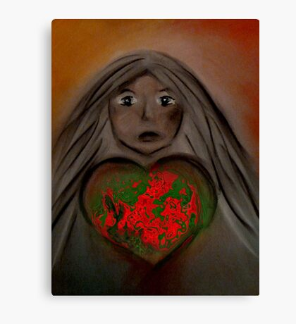 Love Mother Earth  Canvas Print