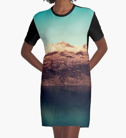 Entferntes Königreich T-Shirt Kleid