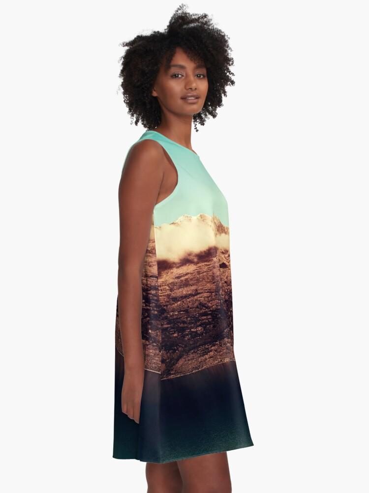 Alternative Ansicht von Entferntes Königreich A-Linien Kleid