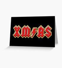 XM/AS (3D) Greeting Card