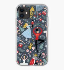 Clara's Nutcracker Ballet repeat by Robin Pickens iPhone Case