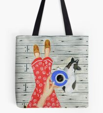 PJ's and Pooch Tote Bag
