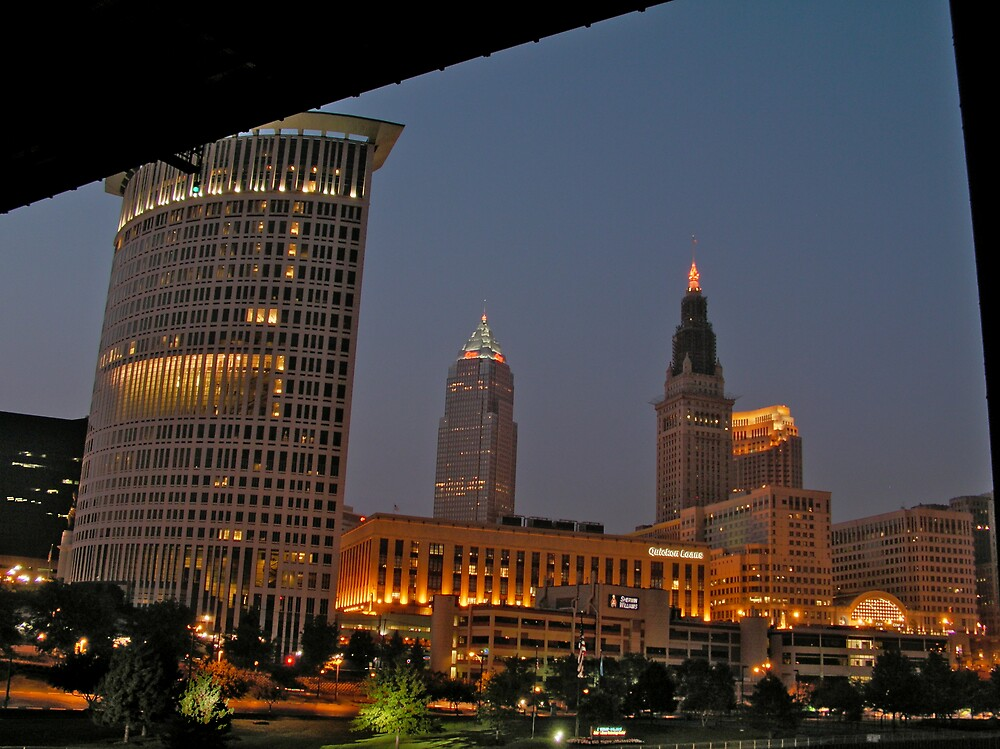 Downtown Cleveland  by MClementReilly