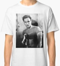 Brando Holds a Beer Bottle Classic T-Shirt