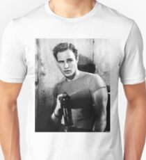 Brando Holds a Beer Bottle Unisex T-Shirt