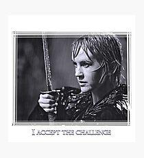Xena - Gabrielle's challenge Photographic Print