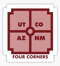 Four Corners - Red Sticker