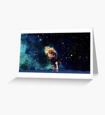 Calvin and Hobbes-In Space Greeting Card