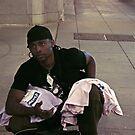 Street Vendor by Jarede Schmetterer
