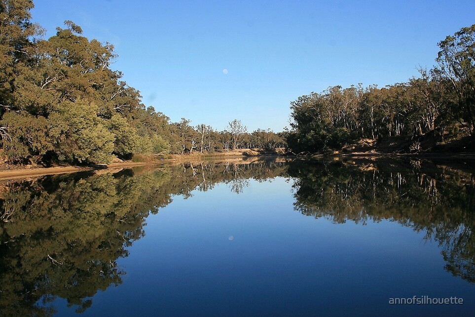 Murray River  by annofsilhouette
