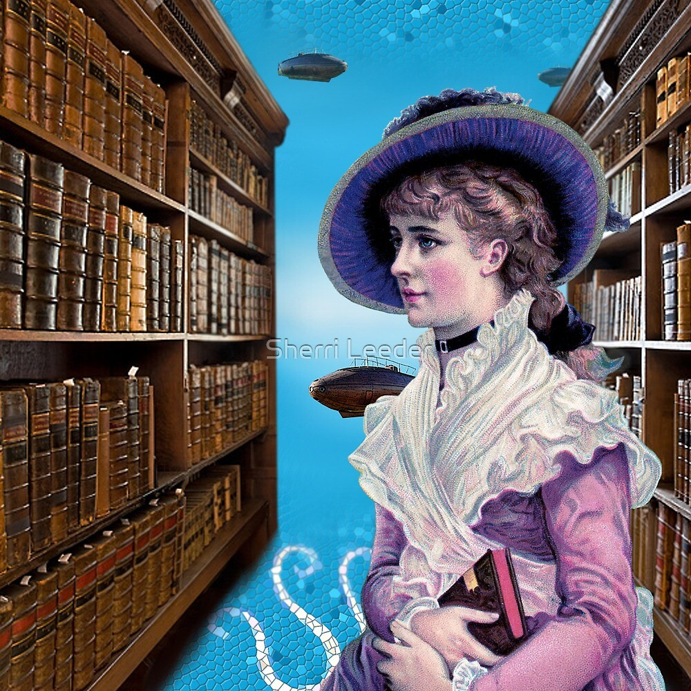 Submarines in the Library by Sherri Leeder