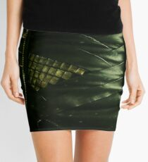 It's tricky, looking good in green Mini Skirt