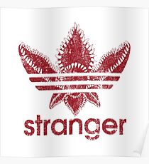Stranger Things - adidas Poster