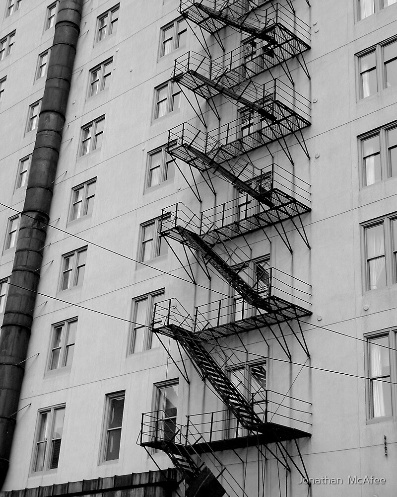 Fire Escape by Jonathan  McAfee