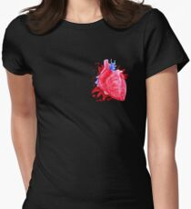 Don't take it to heart Women's Fitted T-Shirt