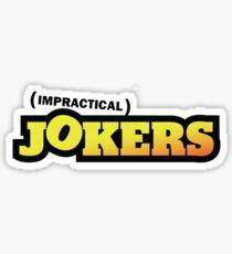 Impractical Jokers Logo Sticker