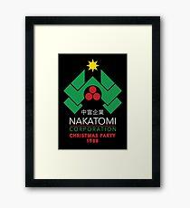 Nakatomi Corporation - Christmas Party Framed Print