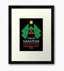 Nakatomi Corporation - Christmas Party Framed Print