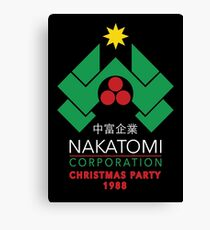 Nakatomi Corporation - Christmas Party Canvas Print
