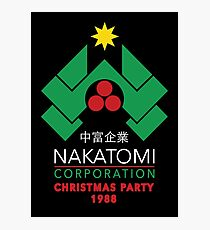 Nakatomi Corporation - Christmas Party Photographic Print