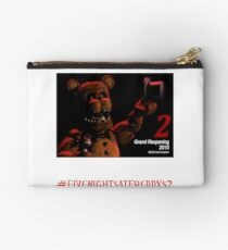 Five Nights at Freddy's 2 Logo Studio Pouch