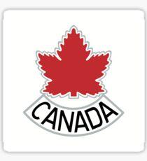 The Maple Leaf Canada Sticker