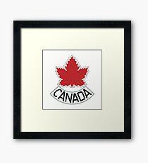 The Maple Leaf Framed Print