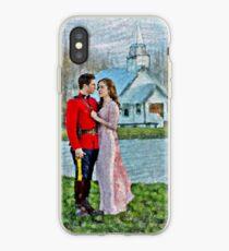 Jack And Elizabeth iPhone Case