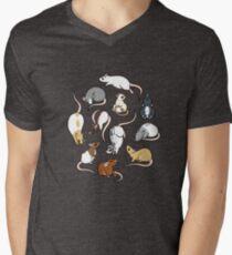 Rats Men's V-Neck T-Shirt
