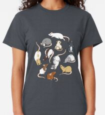 Camiseta clásica Ratas