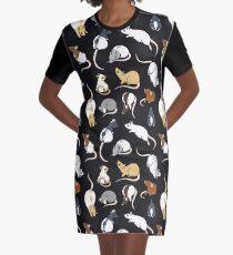 Rats Graphic T-Shirt Dress