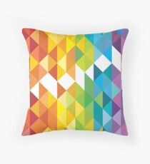 Mosaic 1495 - Rainbow Connection Throw Pillow