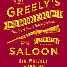 Greely's Saloon by heavyhand